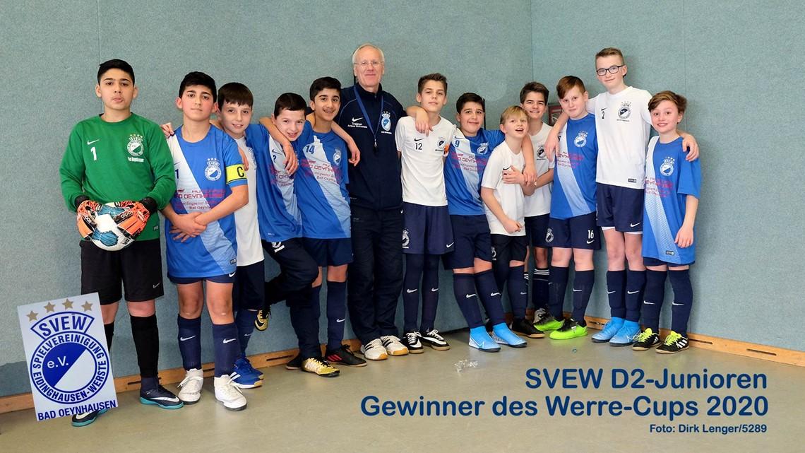 Mannschaftsfoto SVEW Bad Oeynhausen 18