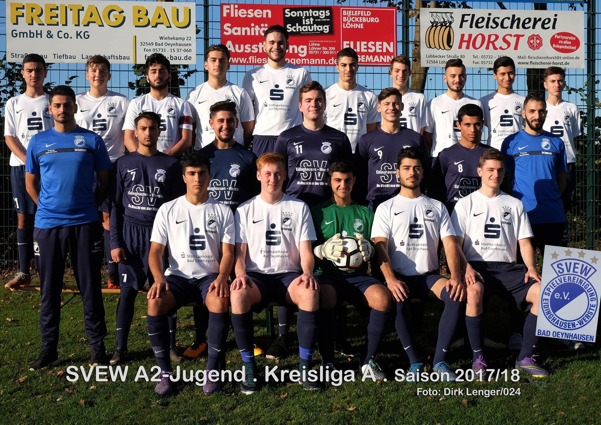 Mannschaftsfoto SVEW Bad Oeynhausen 2