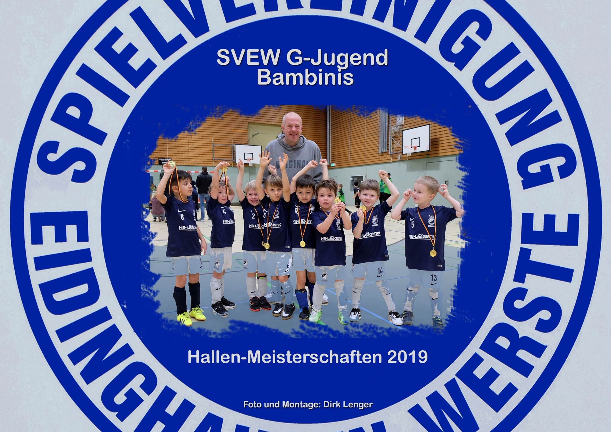Mannschaftsfoto SVEW Bad Oeynhausen
