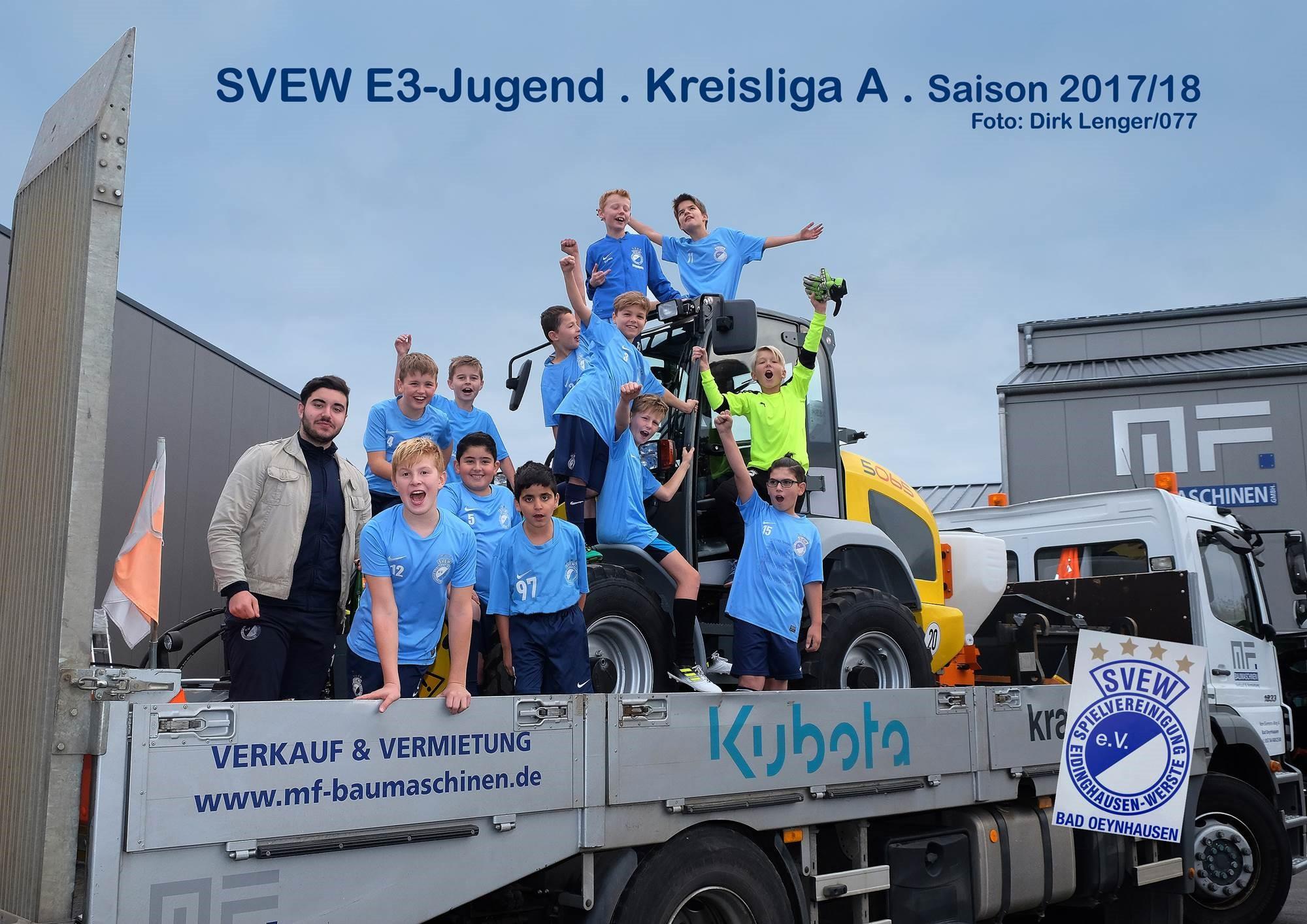 Mannschaftsfoto SVEW Bad Oeynhausen 3