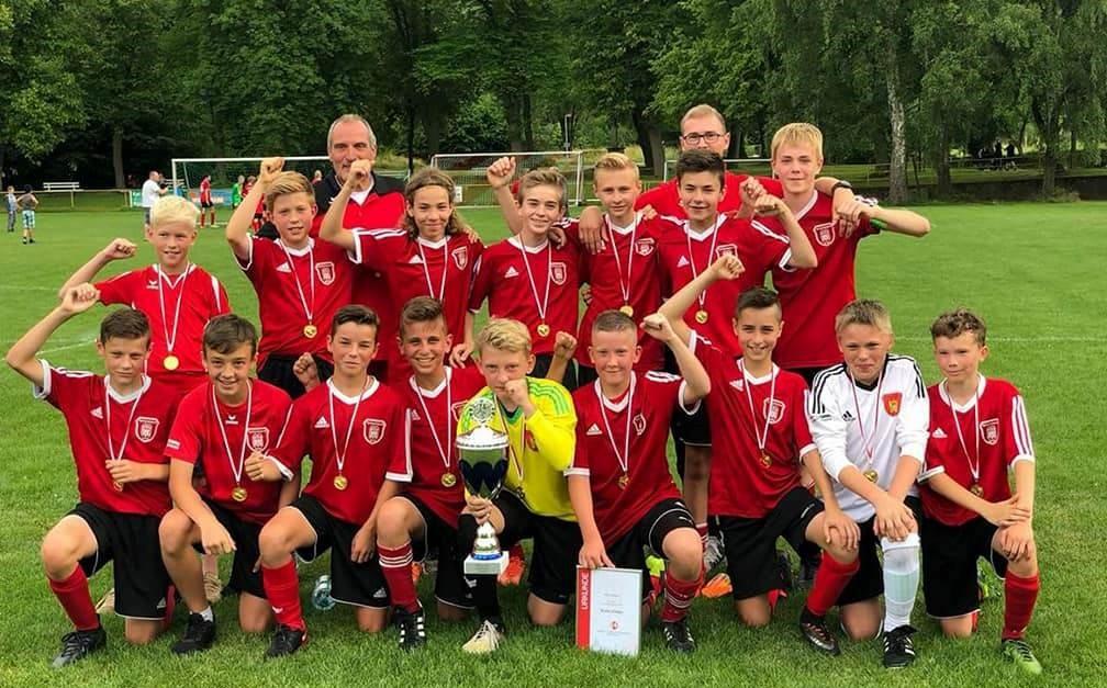 D1-Junioren holen den Kreispokal 2017/2018