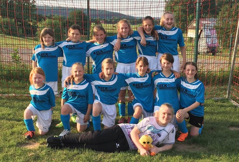 D-Juniorinnen erfolgreich in Nieheim
