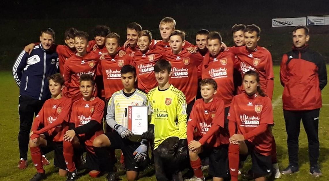 C-Jugend gewinnt Kreispokal