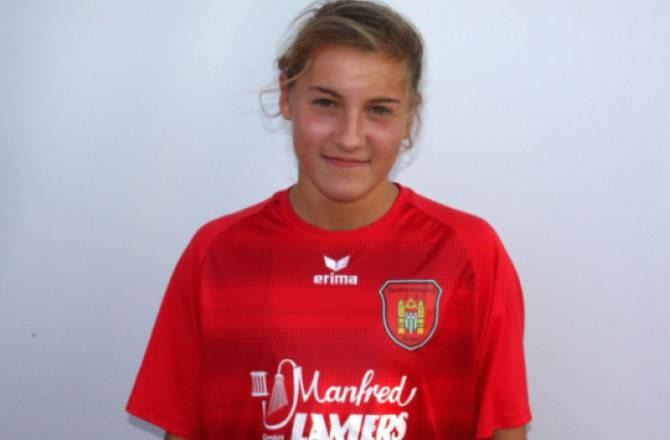 Carlotta Wamser ist für die deutsche U17 nominiert