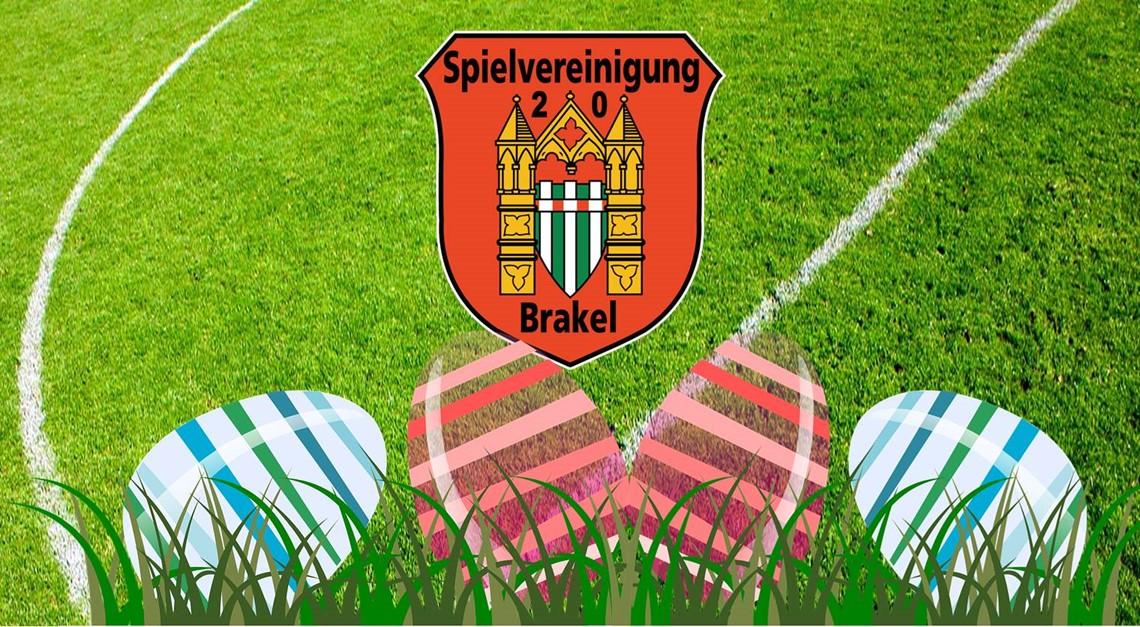 Die Spvg 20 Brakel wünscht frohe Ostern!