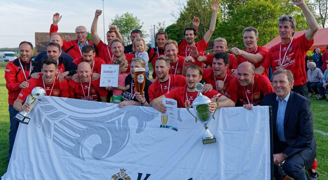Ü32 gewinnt Kreispokal vs SG Vinsebeck/Sandebeck