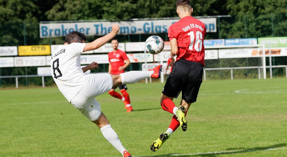 Knapper 2:1 Sieg im Spitzenspiel gegen VFL Holsen