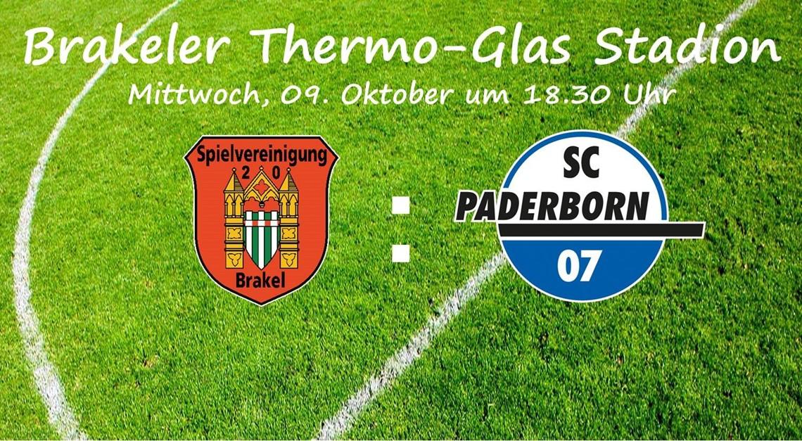 Bundesligist SC Paderborn zu Gast in Brakel