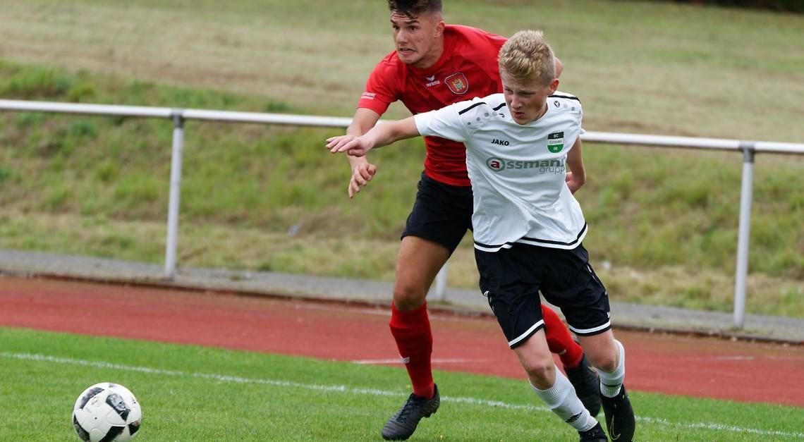 B1 - Jugend gewinnt 2:1 gegen Greven