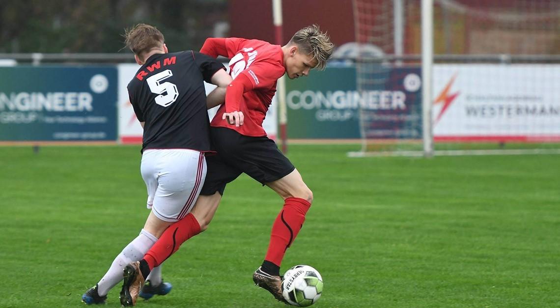 I. Mannschaft besiegt SC rot weiß Maaslingen