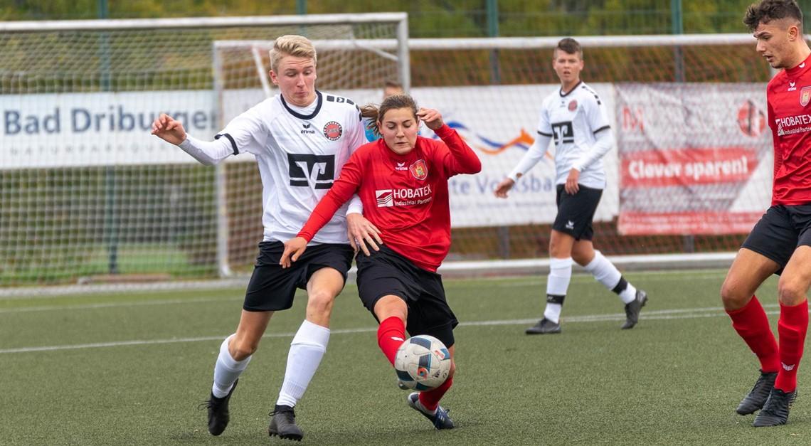 B-Jugend unterliegt FC Eintracht Rheine mit 1:3