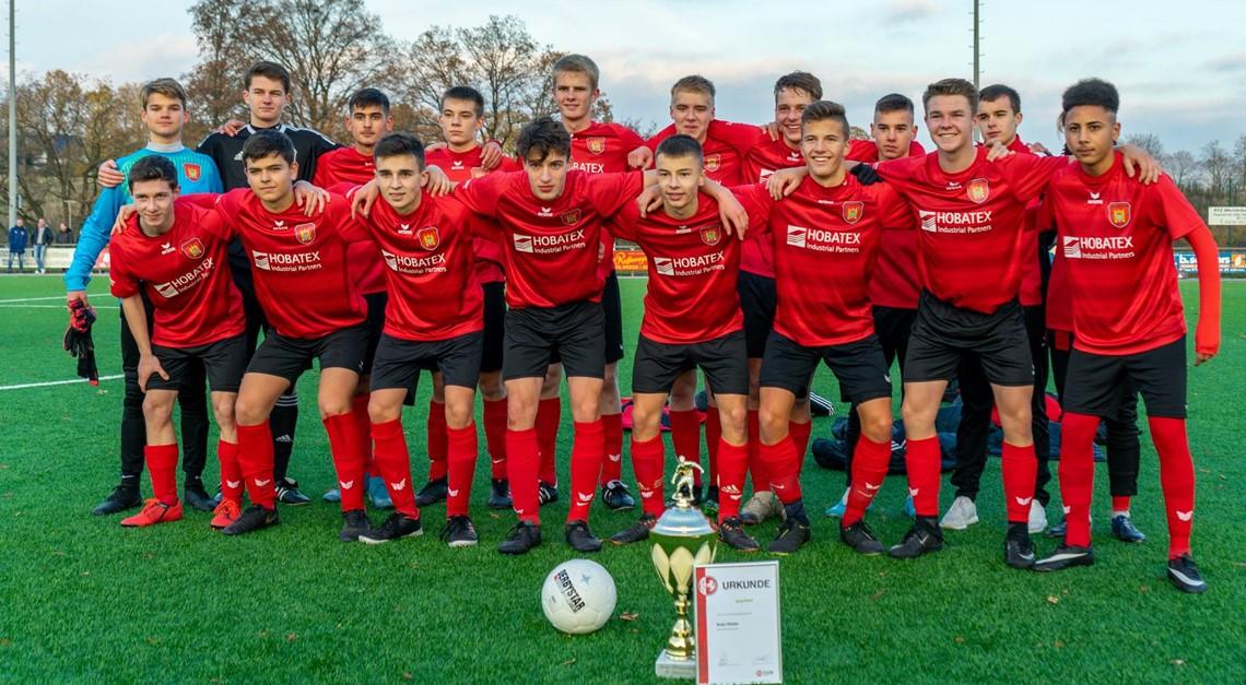 B-Jugend gewinnt Kreispokal mit 11:0