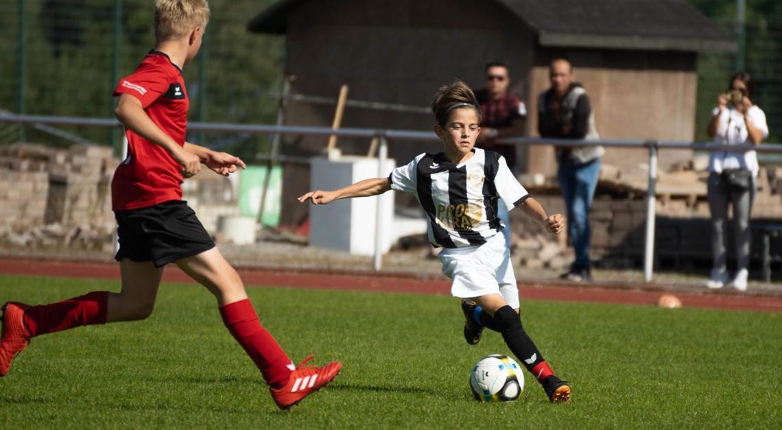 U13 verliert knapp mit 3:4 gegen Delbrück