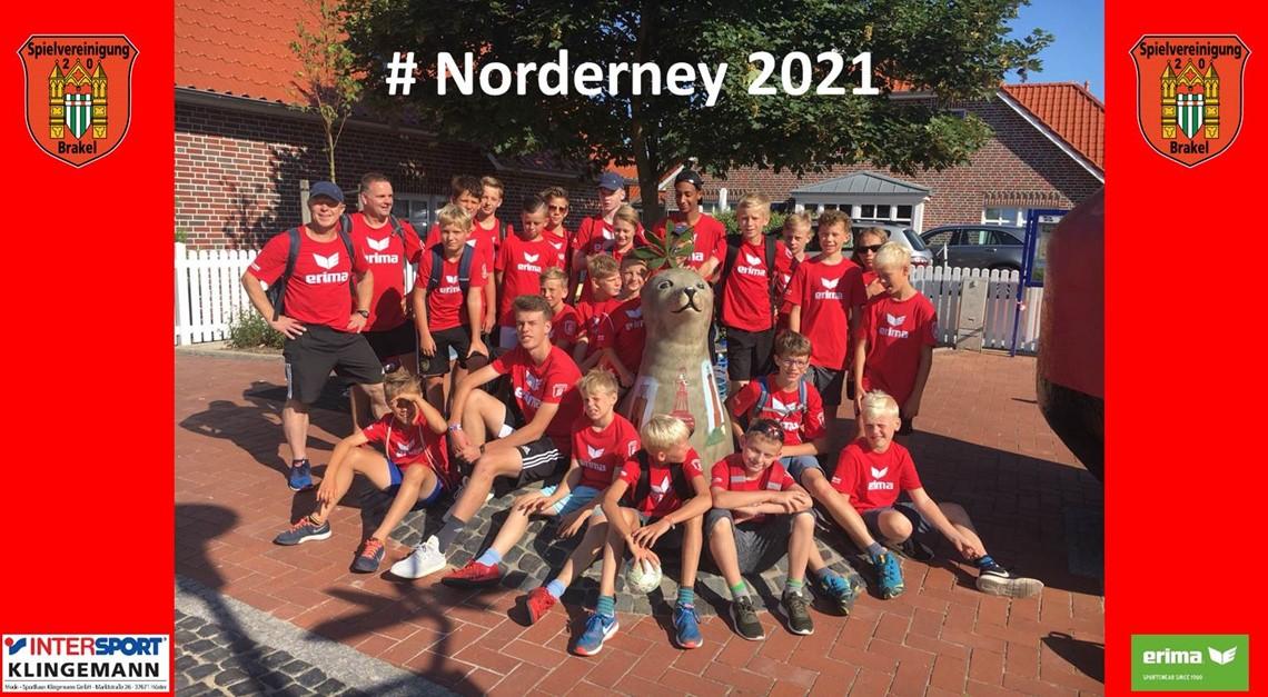 Fußball Ferienfreizeit Norderney 2021