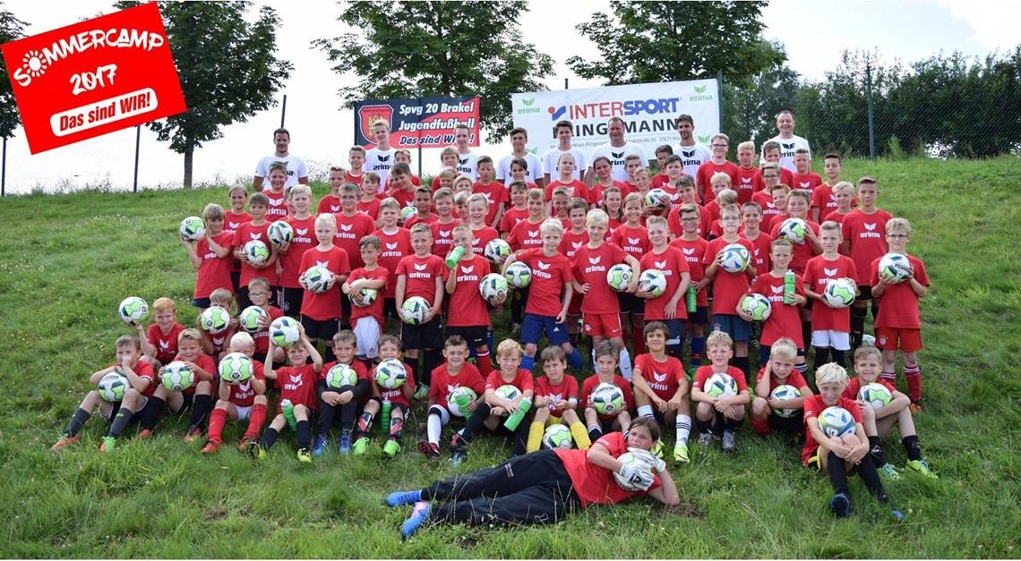 Fußballcamp Spvg 20 Brakel