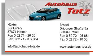 Sponsor - Autohaus Totz