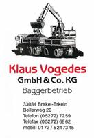 Sponsor - Klaus Vogedes