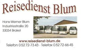 Sponsor - Blum Reisedienst