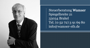Sponsor - Wamser - Steuerberater