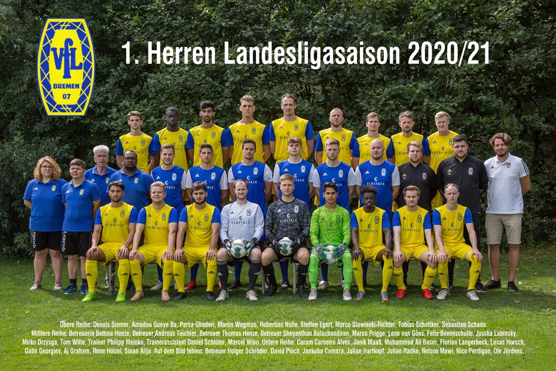 Mannschaftsfoto VfL 07