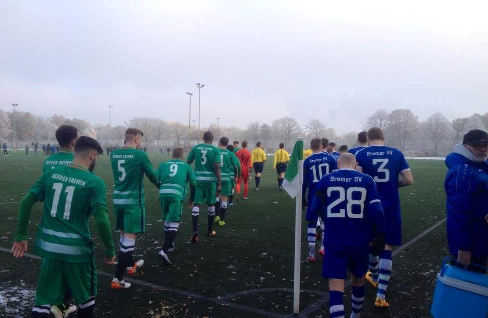 Drei Punkte gegen stark spielendes Werder III