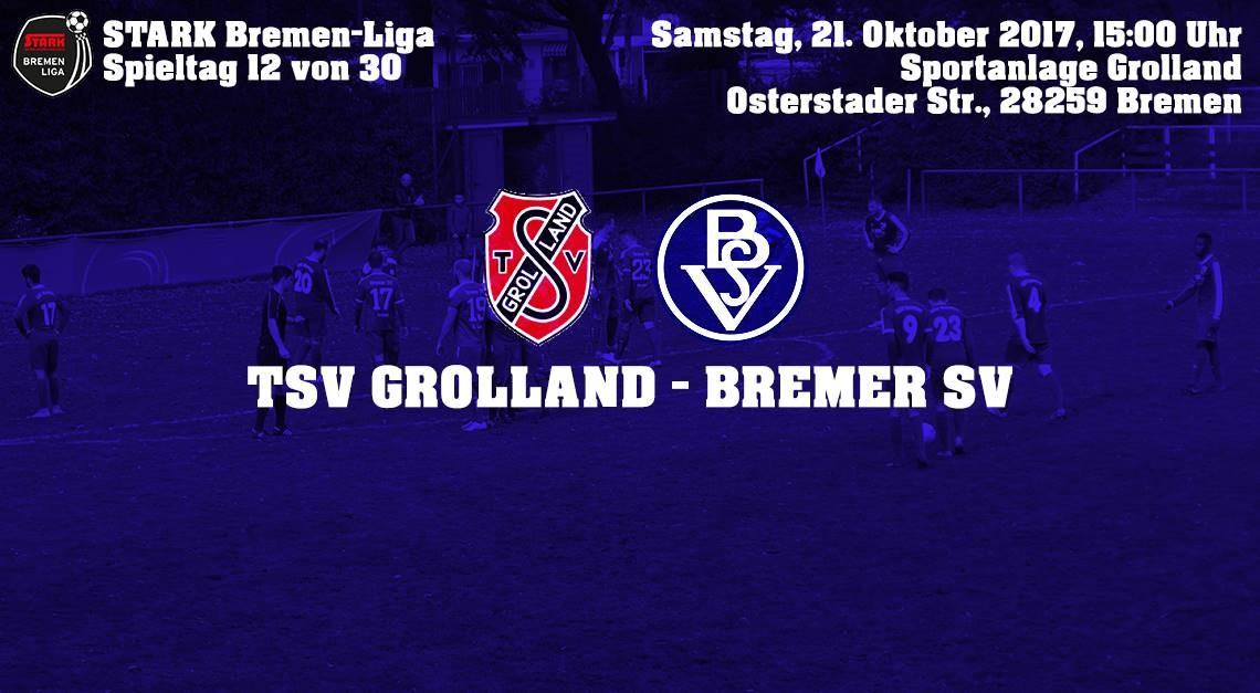 BSV zu Gast beim TSV Grolland