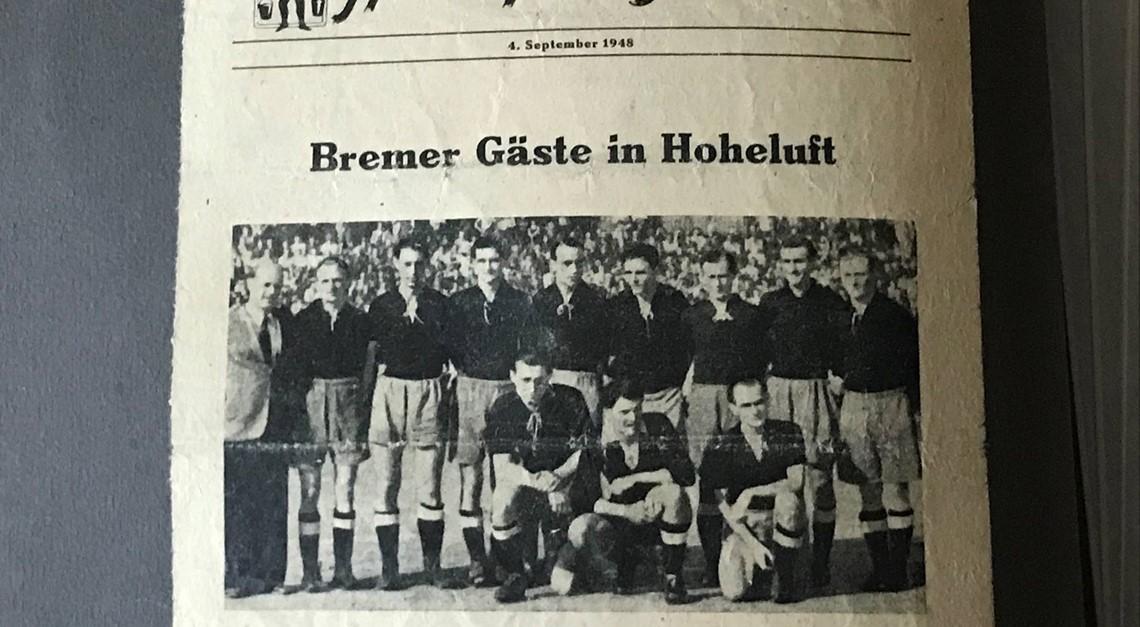 Online-Historie der Vereinsgeschichte