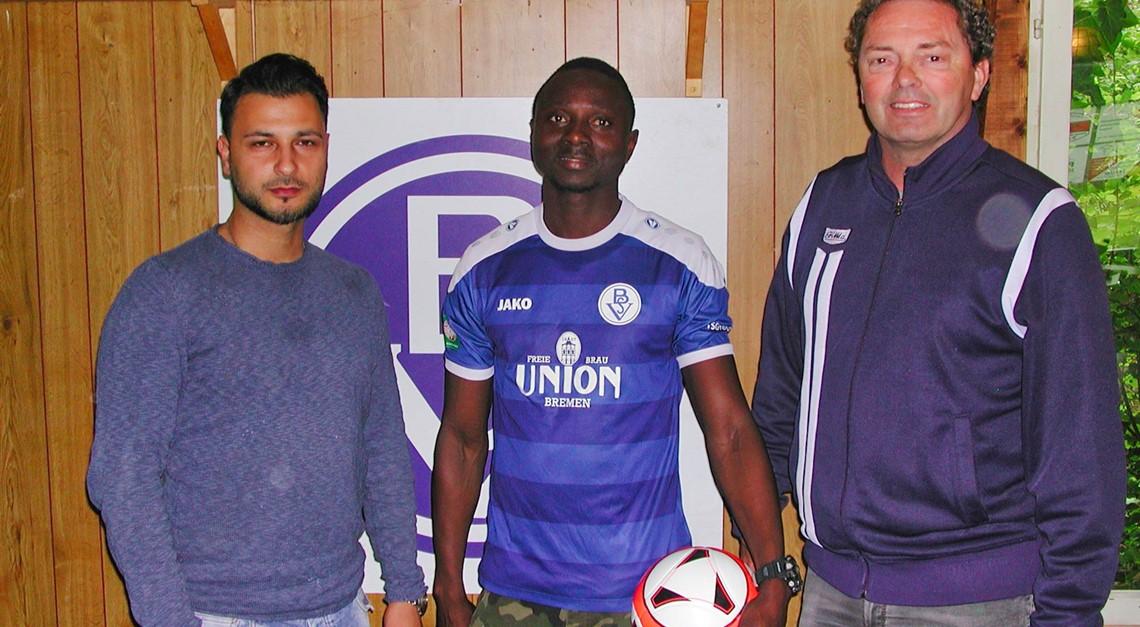 Vafing Jabateh bleibt beim Bremer SV