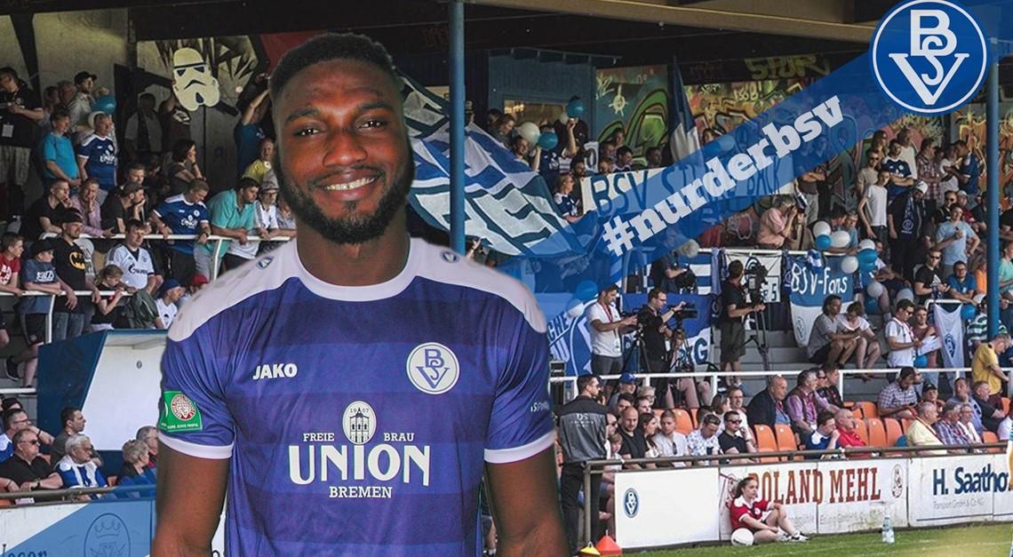 Maxwell Ibrahim Appiah verlängert beim Bremer SV