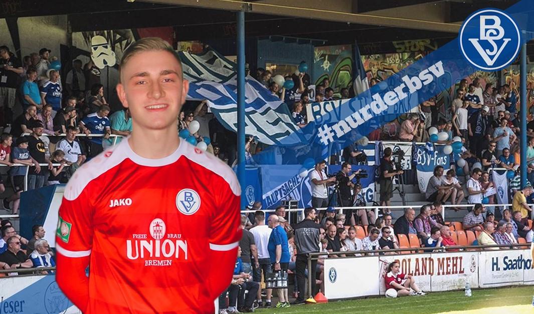 Tom-Cedrik Gronewold bleibt beim Bremer SV