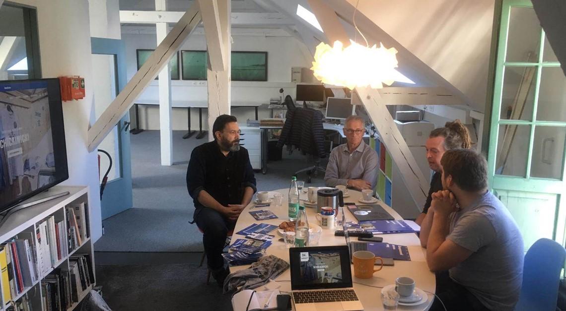 Kooperation Medienhaven und der Bremer SV