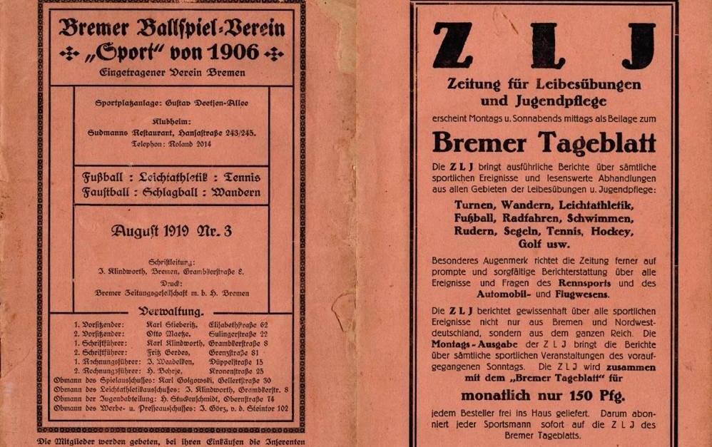Postkarte + Werder = Disqualifikation