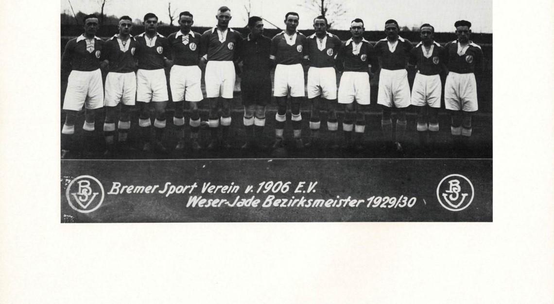 Erstmals große Jahre für den Fußball im BSV: