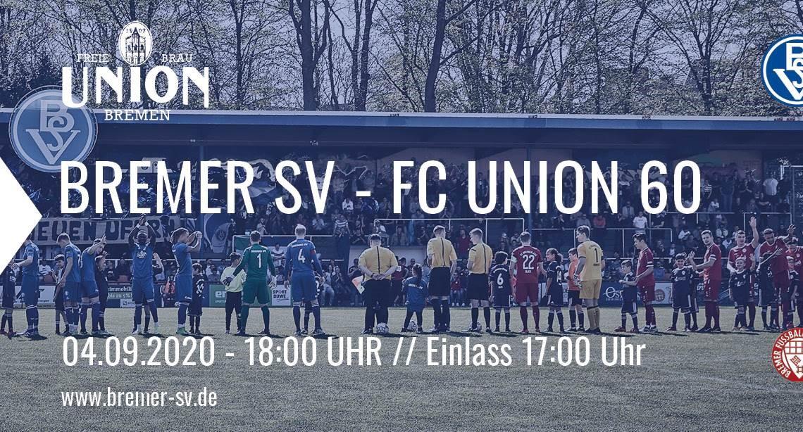 Eintrittskarte Bremer SV - Union 60