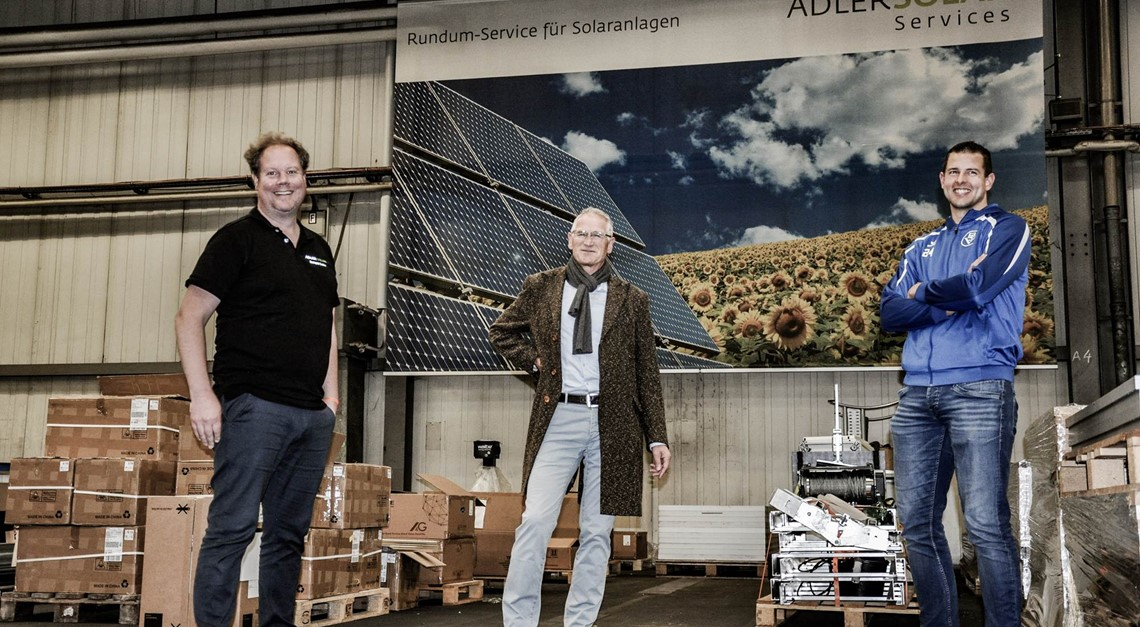 ADLER Solar wird Partner beim Bremer SV