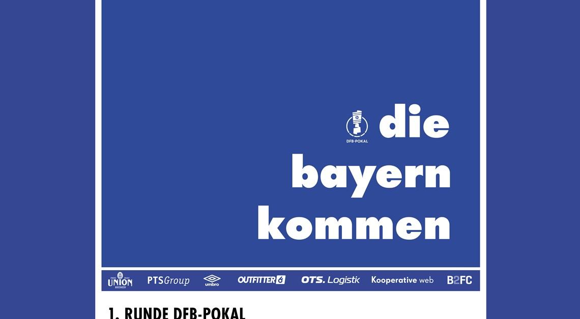 DFB-Pokalauftakt im wohninvest Weserstadion