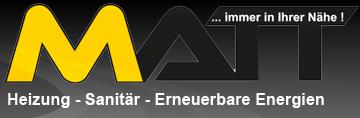 Sponsor - Firma MATT Haustechnik