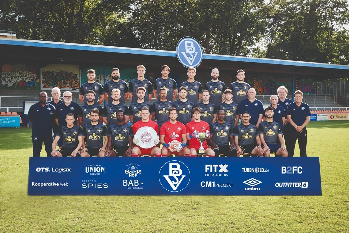 Mannschaftsfoto Bremer SV
