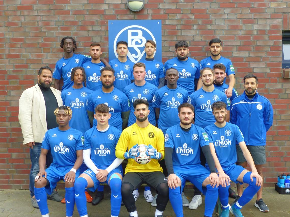 Mannschaftsfoto Bremer SV 2