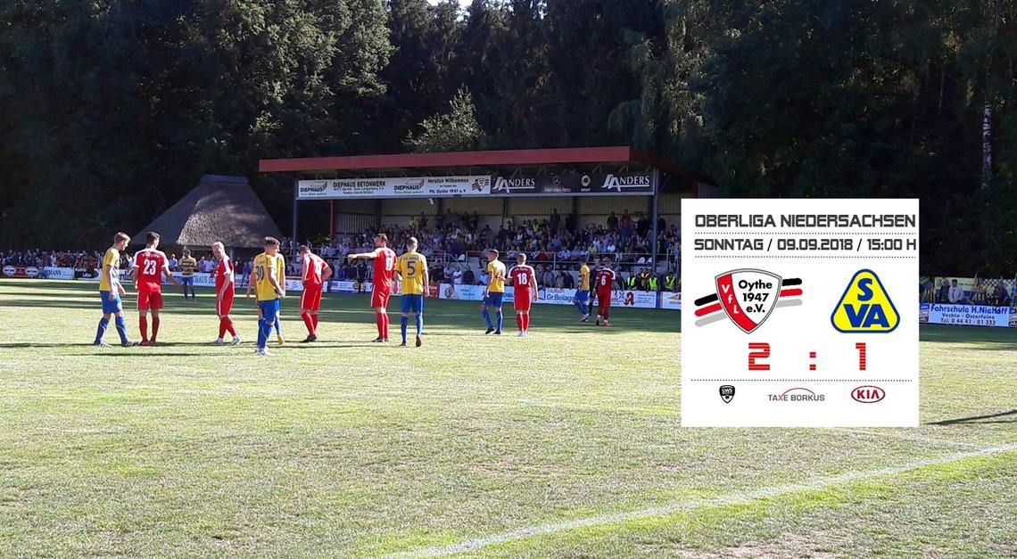SV Atlas verliert 1:2 gegen VfL Oythe