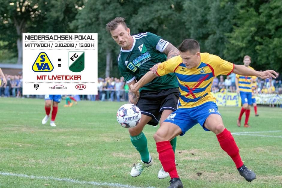 Pokalspiel gegen FC Hagen/Uthlede