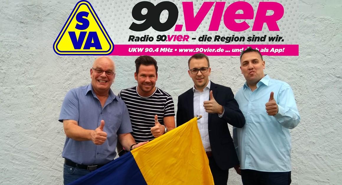 Kooperation zwischen Radio 90.vier und dem SVA