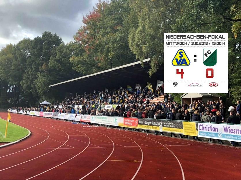 SV Atlas Delmenhorst stürmt ins Halbfinale