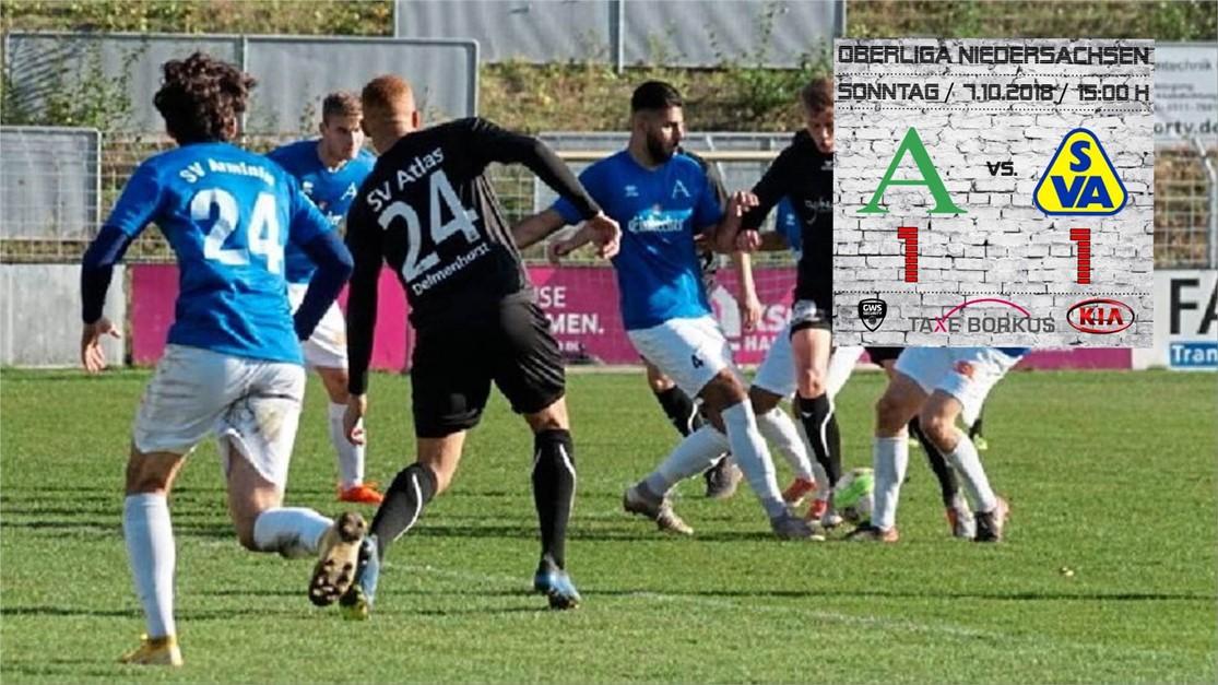 Atlas erkämpft sich 1:1 bei Arminia Hannover