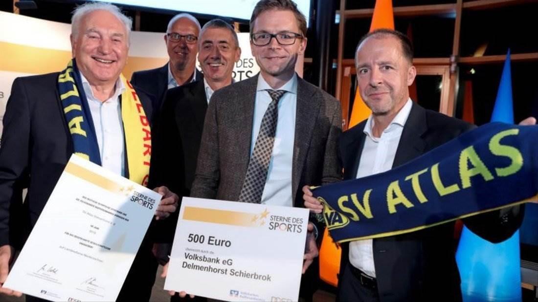 SV Atlas Delmenhorst gewinnt Förderpreis