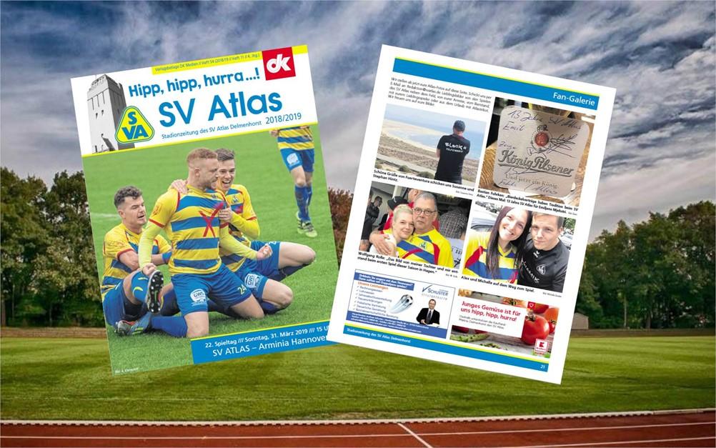 Stadionzeitung jetzt online!