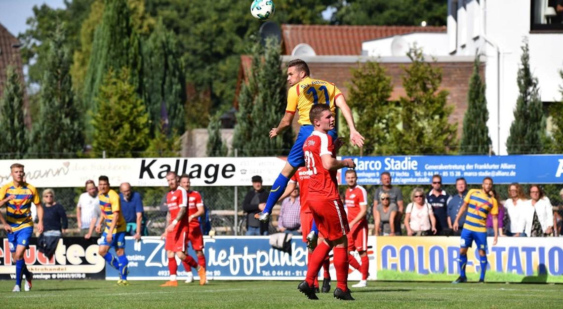 Heimspiel gegen VfL Oythe