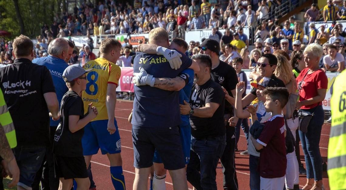 SVA auf einer Stufe mit Ex-Bundesligisten