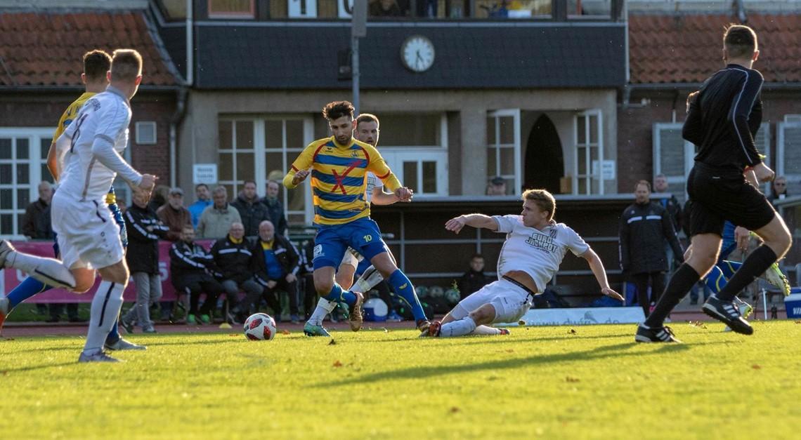 Auswärtsspiel beim BV Cloppenburg