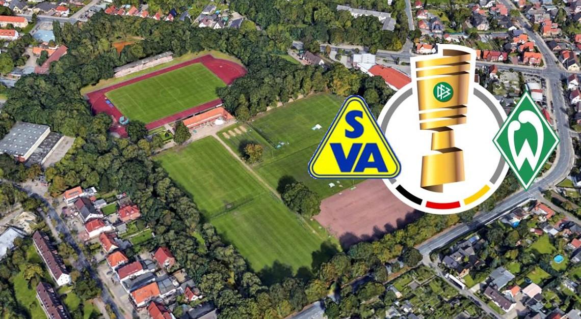 Wo steigt das Pokalspiel zwischen SVA und Werder?